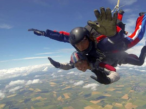 How you helped 2014: Amy Beadleson skydiving